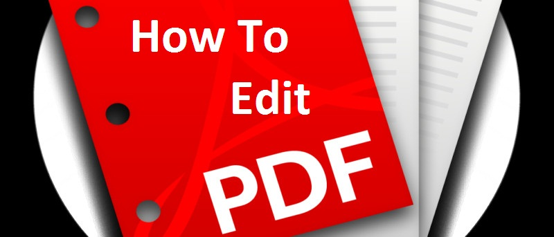 How to edit pdf files, techloudgeek, edit pdf files,