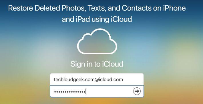 iCloud, iCloud Login, techloudgeek.com, techloudgeek.com