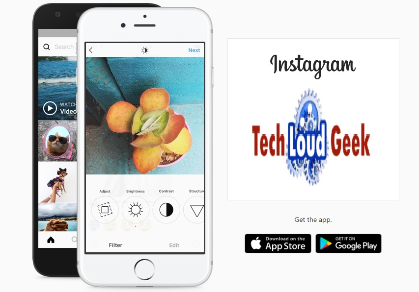 save Instagram, Instagram, Instgram Photos, techloudgeek.com, techloudgeek