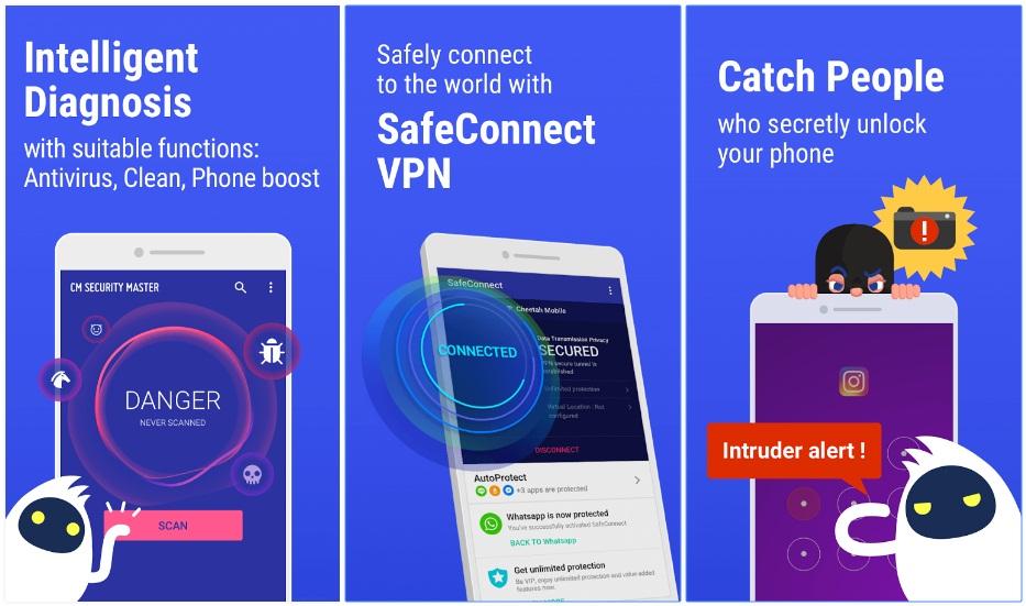 Anti Virus Apps, CM Security Antivirus Applock, techloudgeek.com, techloudgeek