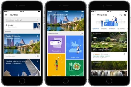 Google Trips, Best Travel Apps, Best Travel Apps 2017, techloudgeek.com, techloudgeek