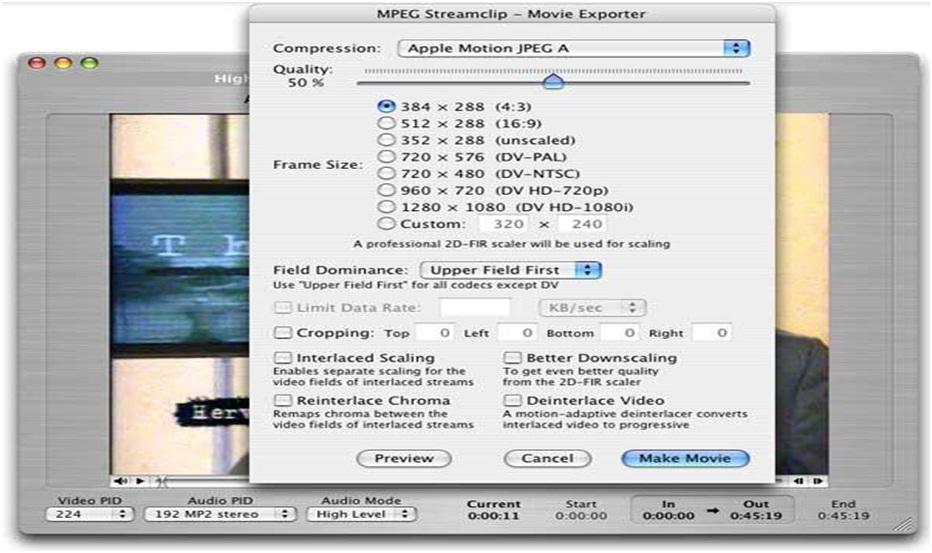 video converter software, MPEG Streamclip, techloudgeek.com, techloudgeek