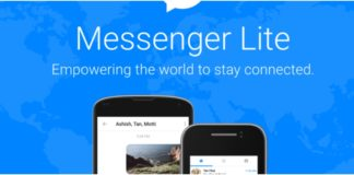 Messenger Lite APP, facebook Messenger Lite APP, techloudgeek.com, techloudgeek