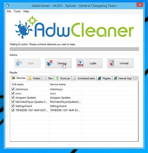 Adwareclean, techloudgeek.com, techloudgeek, pop up