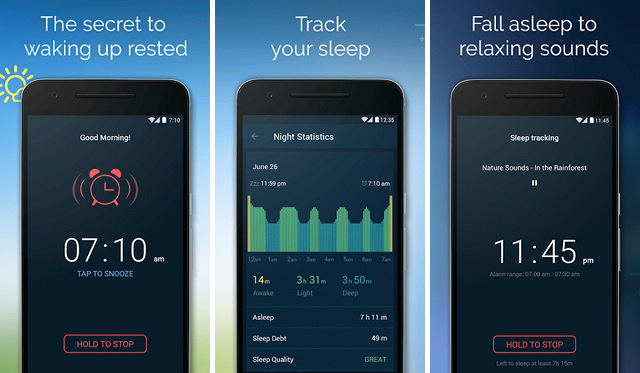 Goodmornin, techloudgeek.com, techloudgeek, Best Sleep Tracking Apps For Android,