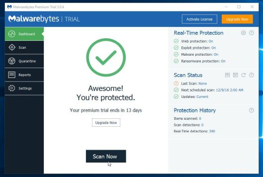 Malwarebytes2, techloudgeek.com, techloudgeek, pop up