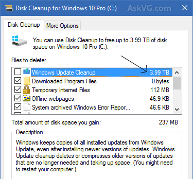 Find Junk Files And Delete, techloudgeek.com, techloudgeek, System files
